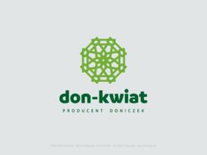DON KWIAT redesign logotypu i nowe Corporate ID dla firmy - producenta doniczek.