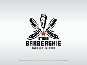 Studio Barberskie - Logo FOR SALE - Logotyp NA SPRZEDAŻ