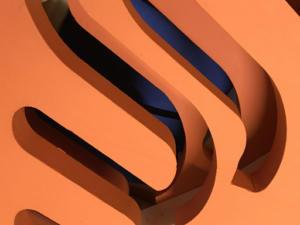 Styrodurowe litery przestrzenne - reklama zewnętrzna.dla firmy WODMET.
